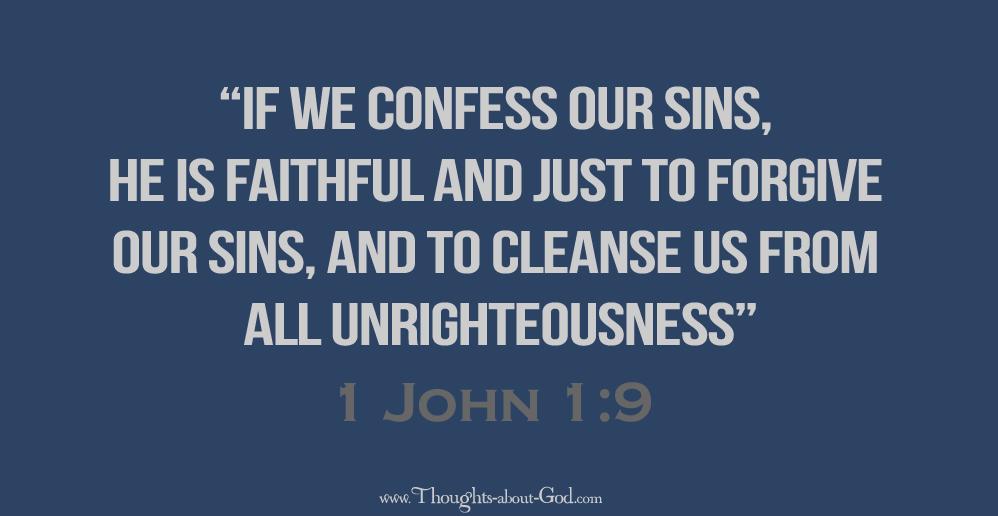 1 John 1:9 Devotional