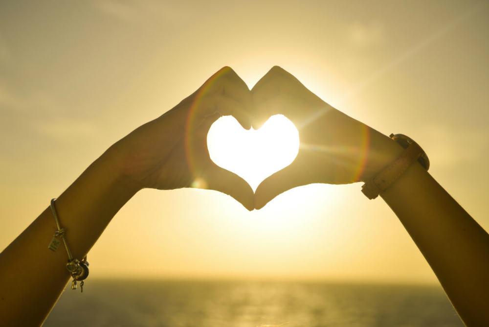 love heart God's love