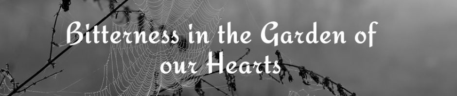Bitterness in the Garden of our Hearts - Devotional