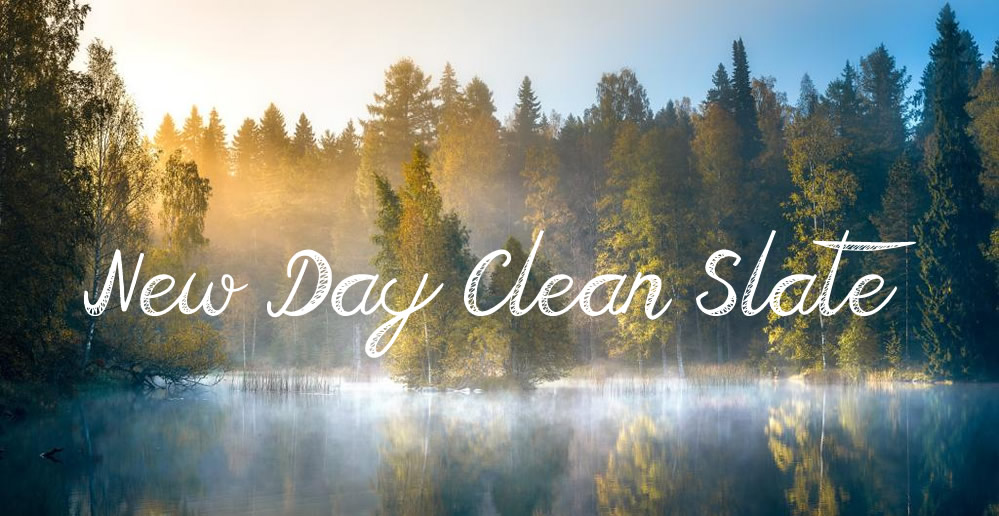 Devotional - New Day Clean Slate