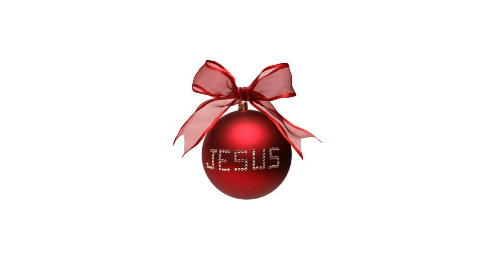 Jesus Christmas ornament - Devotional