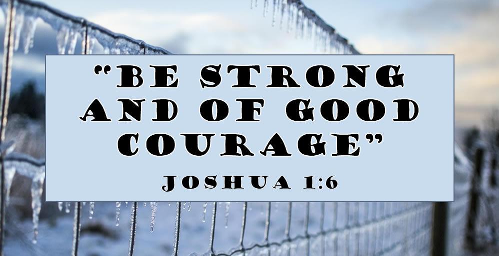Joshua 1:6