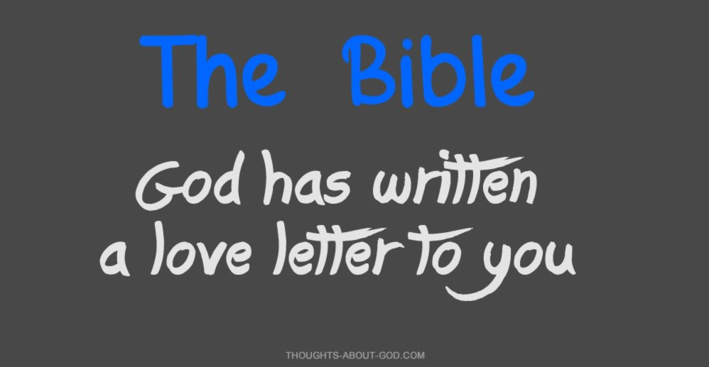 The Bible: a love letter from God