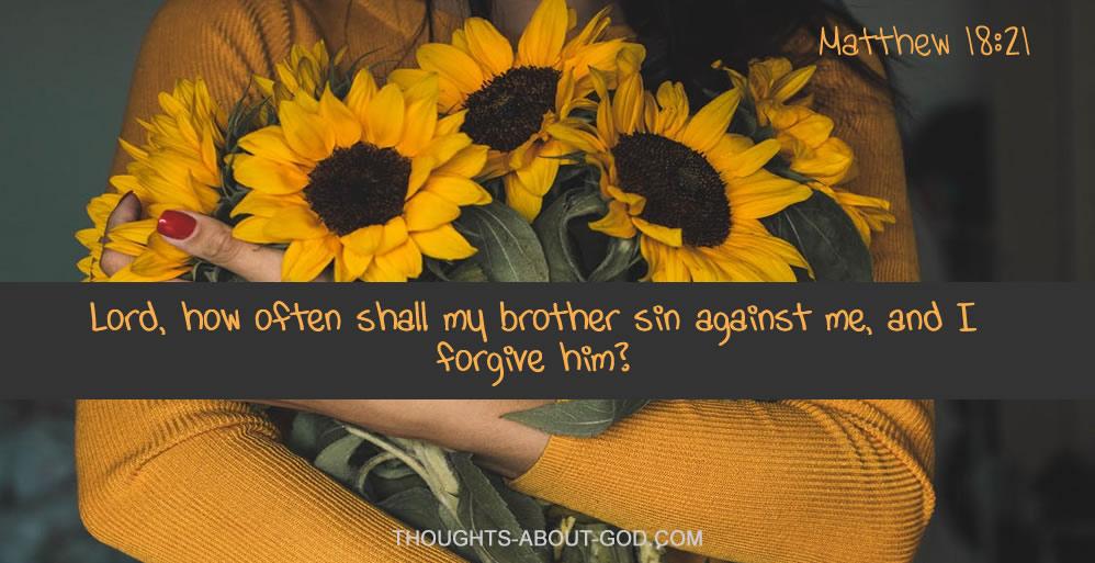 Matthew 18;21