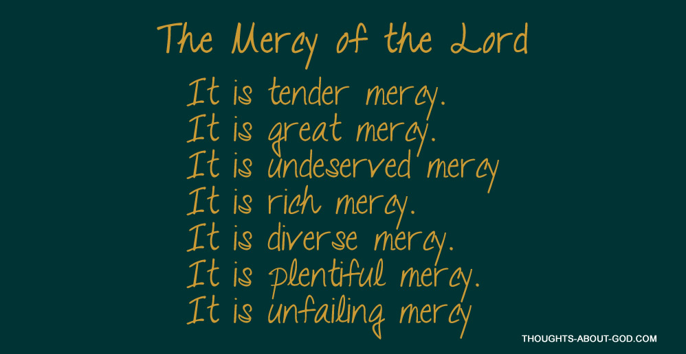 The Mercy of the Lord | Daily Devotional by Charles Spurgeon