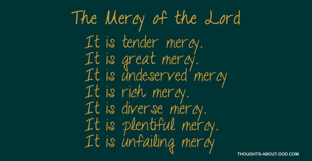Mercy in the Hebrew Bible