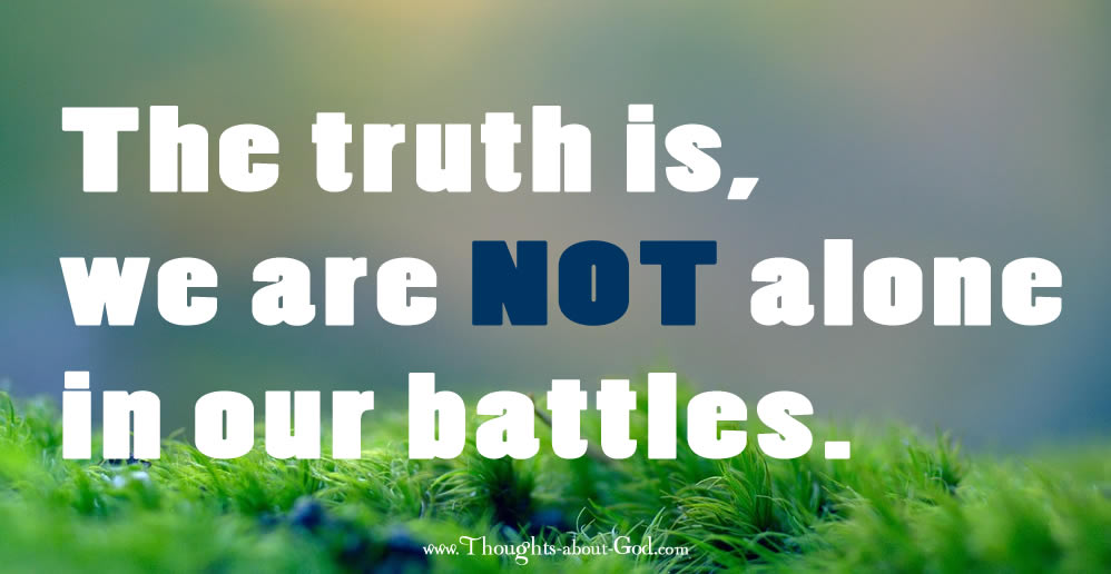 God is with us in our Battles