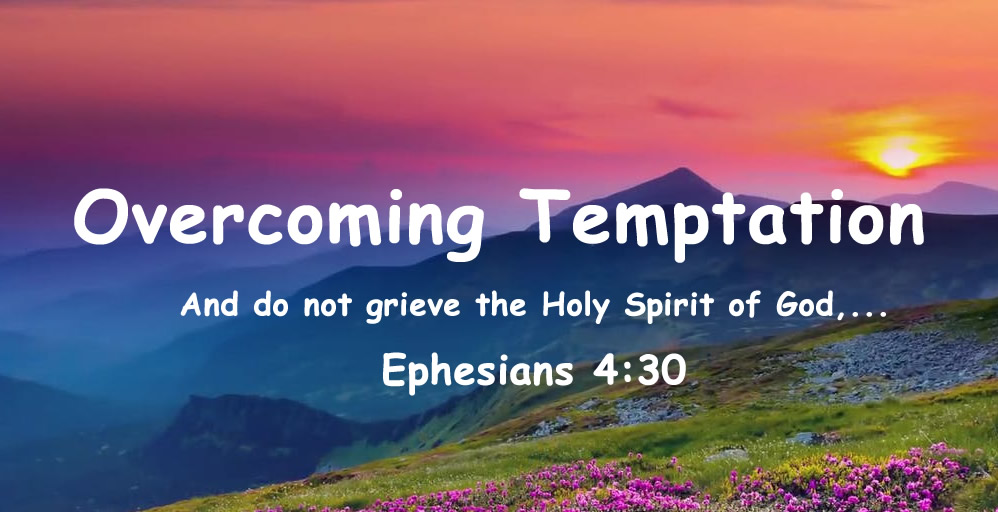 Ephesians 4:30 And do not grieve the Holy Spirit of God,...