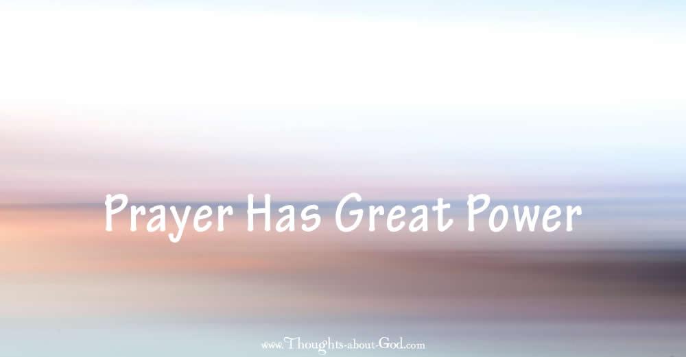 devotional on prayer