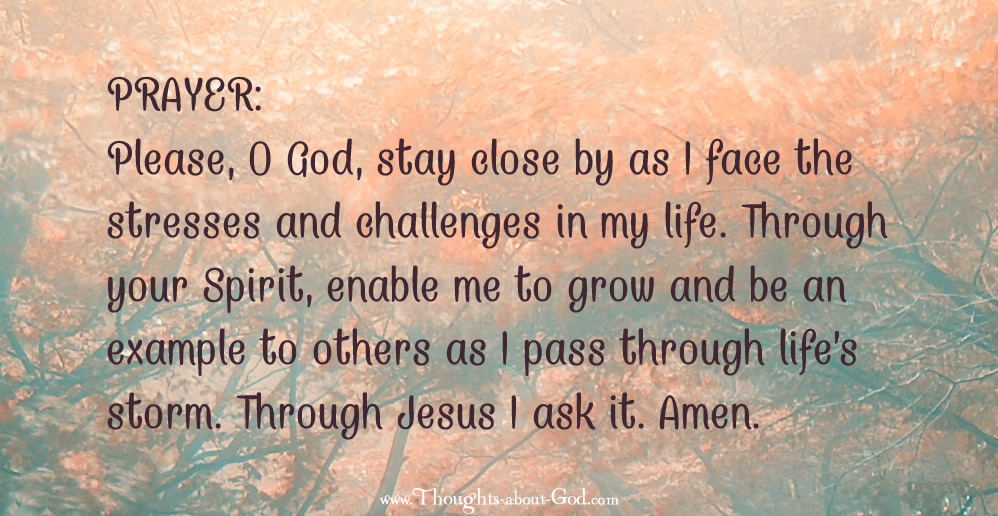 Prayer - in the stress and storms of life