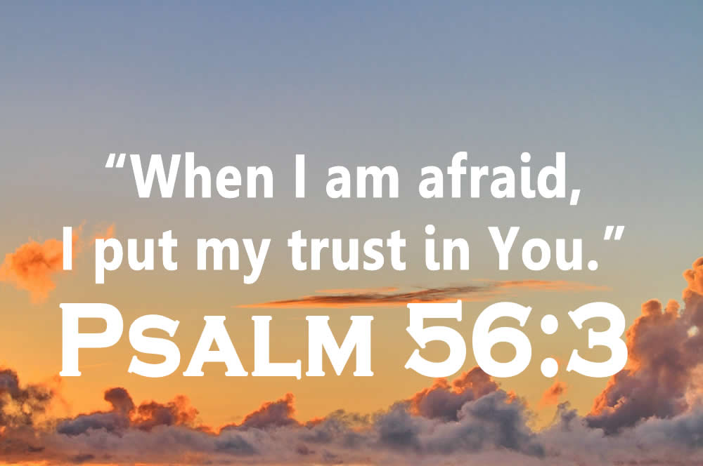 devotrional on Psalm 56:3