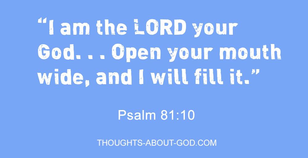 Psalm 81:10