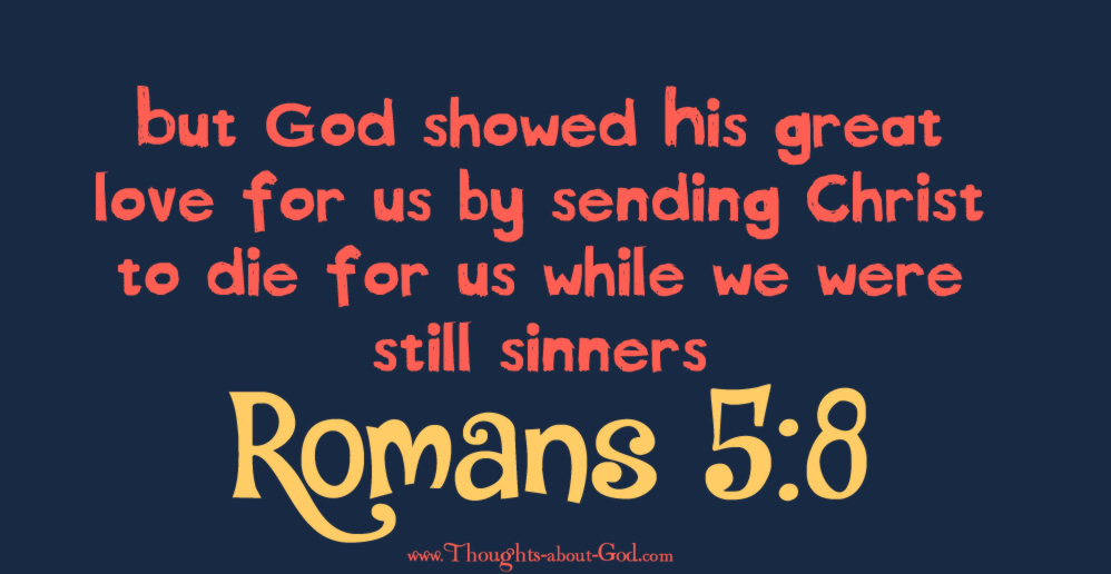 Image result for romans 5:8