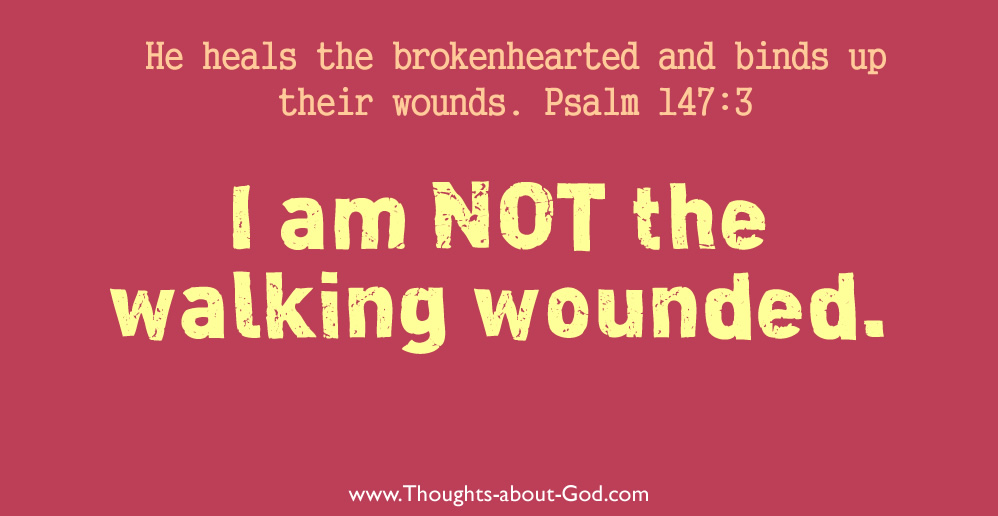 I am not the walking wounded