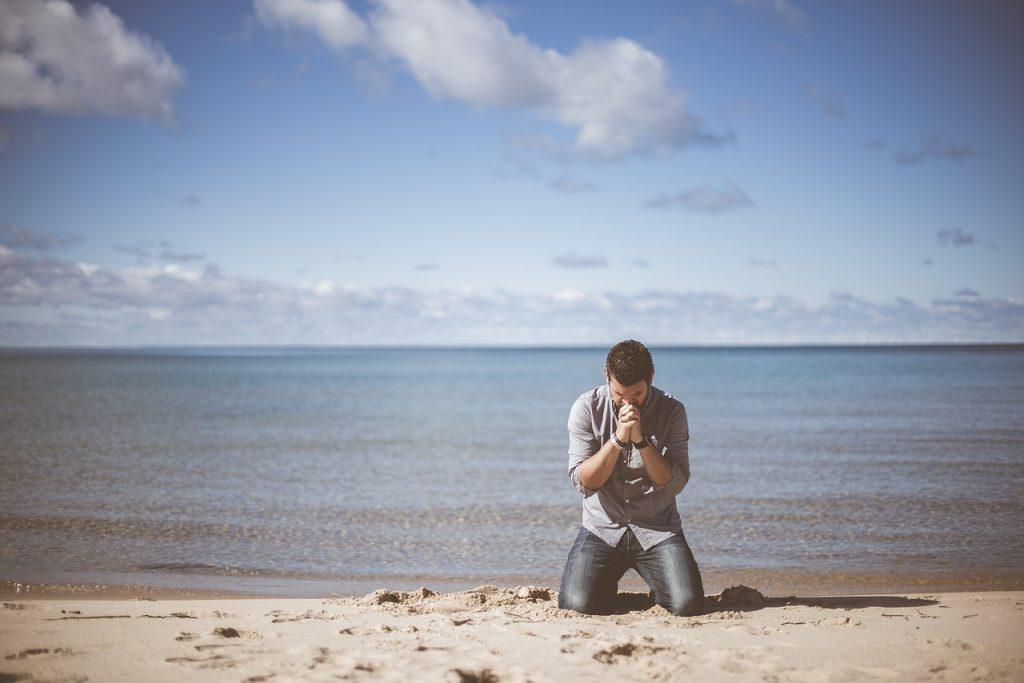 Prayer, praying, pray, surrender, worship, kneeling