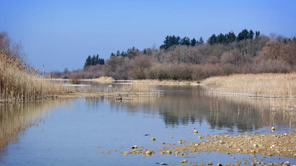 calm water scene peaceful