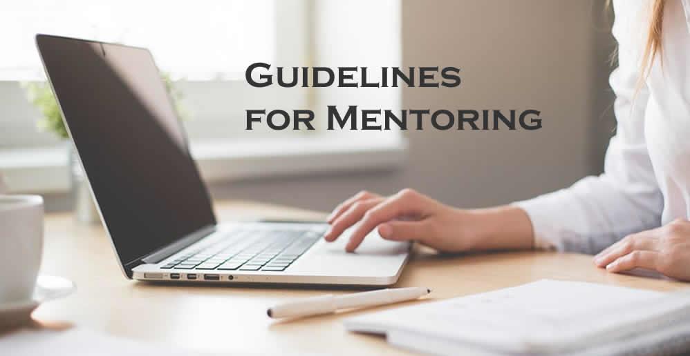 Guidelines for Mentoring