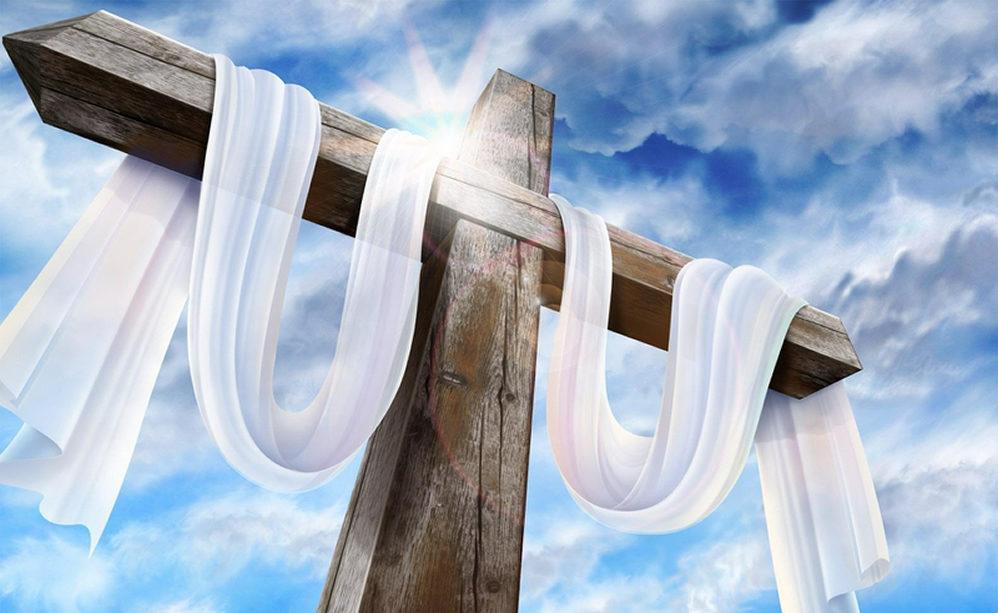 Easter cross Jesus resurrection